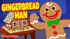 Gingerbread Man🎄 Christmas Music for Kids 🎄 Merry Xmas Songs 🎄 by The Learning Station Christmas Music For Kids, What Is Christmas, Christmas Movies, Xmas Songs, Fun Songs, Holiday Song, Learning Stations, Music And Movement, Reading Rainbow