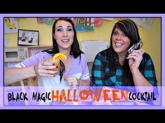 Black Halloween Magic!   Pinterest Drink #68   MamaKatTV