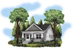 Ranch   House Plan 72618; need to tweek a bit, add windows, move master closet to wall next to bath, otherwise a good rectangular plan