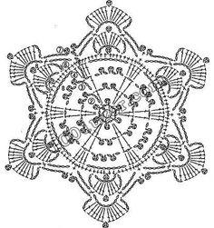 snowflake crochet 294