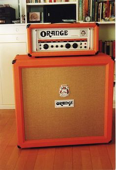 Orange speaker and amp