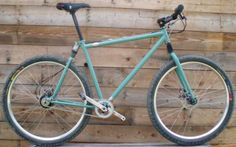 CURTLO CYCLES Custom Mountain Bike with S and S Couplings
