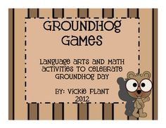 Groundhog Day is next week :)