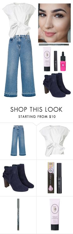 """""""Get the Look #7"""" by ella178 ❤ liked on Polyvore featuring MSGM, Monsoon, Etude House, Holika Holika, peripera, GetTheLook, StreetStyle, Fall, casual and koreanmakeup"""