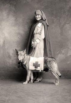 World War I Red Cross Nurse.