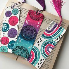 Mandala Design, Mandala Art, Diy Bookmarks, Doodle Art Drawing, Book Markers, Waterproof Stickers, Drawing Stuff, Watercolor Cards, Book Photography