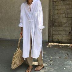 Ideas Style Hijab Outfit Colour For 2019 Fashion Mode, Modest Fashion, Look Fashion, Hijab Fashion, Fashion Outfits, Fashion Tips, Fashion Hacks, White Fashion, Korean Fashion