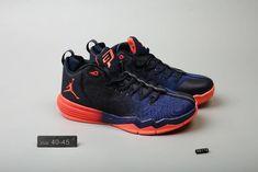 new style 05ccf 130a1 Nike Jordan Men s Jordan CP3 IX Basketball Shoes Deep Blue Red,Jordan-CP3  Shoes Sale Online