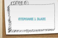 Projet Stéphanie Blake