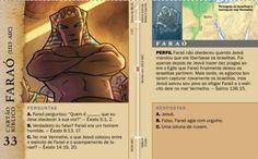 Cartão Bíblico: Faraó