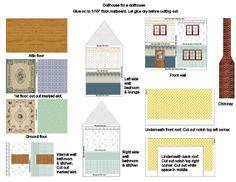 Mini Printables-Dollshouse for dollshouse - Daisy Carpi - Picasa Web Albums