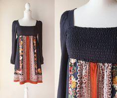 Robe Vintage japonais Vintage 1970 robe de par bijoucaillouvintage