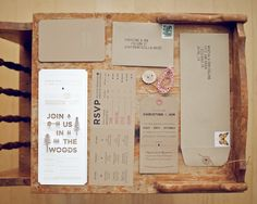 Rustic Country Wedding Invitations - Invitations Ideas, Photos and Tips for Country Chic Weddings