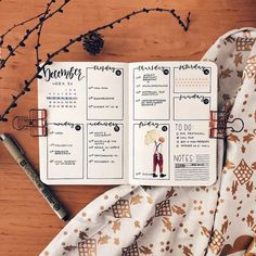 I love the lettering in this @paperlemons weekly spread - so talented! #notebooktherapy