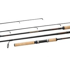 """Sweepfire SWD Spinning Rod - 7' Length, 2 Piece Rod, 8-17 Line Rate, 1/4-1 oz Lure Rate, Medium/Heavy PowerManufacture ID: SWD702MHFSDaiwa Sweepfire-SWD 2pc. Fiberglass Spinning RodFeatures:- Durable, Resilient Fiberglass Blanks - Cut-Proof Aluminum Oxide Guides - Stainless Steel Hooded Reel Seat - Comfortable Cork Grips - Convenient Hook Keeper  Specifications: - Technique: Spinning- Length: 7'0""""- Number of Pieces: 2 - Power: Medium Heavy- Action: Fast - Line Rating: 8-17 lbs.- Lure Rating…"""