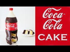 COCA-COLA CAKE How To Cook That Ann Reardon 3D Coke bottle Cake - YouTube