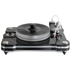 Aries 3 Turntable - Platter - Classic 3 Feed - Ring Clamp: $6,000 #Vinyl #VinylRecords #RecordCollectors #RecordCollecting #Records #SoundStageDirect #VPI