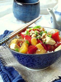 Pineapple Sweet and Sour Tofu