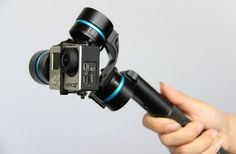 Amazing 3 Axis HandHeld Gimbal for GoPro  , - ,   This small 3 Axis Gimbal by Feiyu-Tech, can give you the most amazing smooth shots you've ever taken.    You can run up steps, run on the beach... ,  #3-axis #Gimbal #shoot