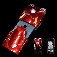 #IronMan iPhone case - YES!! It really lights up when you get a call! #IronMan3Event