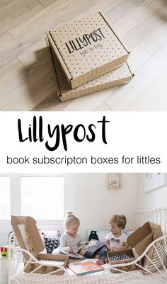 Lillypost is a new monthly subscription service that sends beautiful children's books right to your door (available in both Canada and the U.S.). They offer two different boxes – a board book box for ages 0-2 and a picture book box for ages 3+. Read a full review on happygreylucky.com