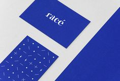 The french wool fashion brand Racé asked Weidemüller to design their new identity.