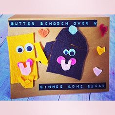 Butter Scooch Over and Gimme Some Sugar Handmade Love Valentine's Day Card