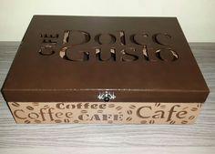 caixa para capsulas de café dolce gusto