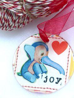 Elephant Joy Ornament