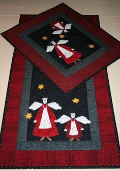 Anne-Grethes quiltblog: Engler / Angels