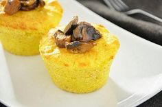 Sformatini di patate e funghi Potatoes and mushrooms