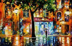 Window oil painting Secrets Of Windows by AfremovArtStudio