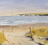 Seasonal gallery of Oliver Pyle's watercolour landscapes