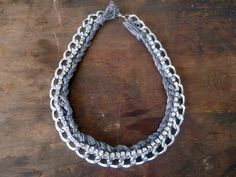 DIY Chunky Chain Necklace | The Average Girl's Guide