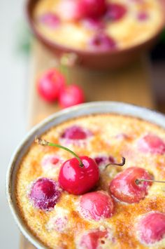 la tartine gourmande - food & drink - food - dessert - cherry amandines