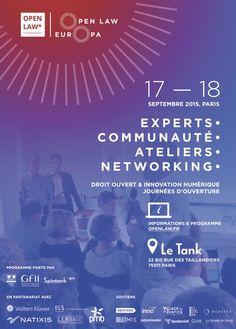 Lancement du programme d'innovation Open Law Europa.