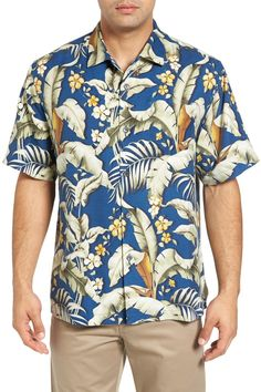 Blumenau Original Fit Silk Camp Shirt