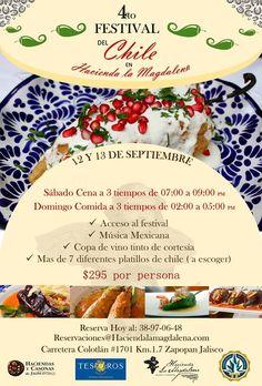 4to. Festival del Chile en Hacienda La Magdalena