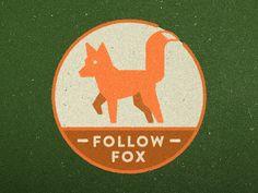 Follow Fox Logo by Tyler Hoehne