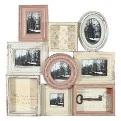 Rustic Wall Decor - Multi Picture Photo Frame from Earth Homewares