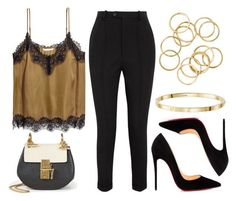 """""""Sin título #12889"""" by vany-alvarado ❤ liked on Polyvore featuring Isabel Marant, Christian Louboutin and Chloé"""