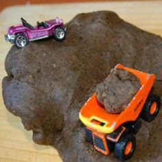 """Boys will like this when it is too cold to play in real mud. """"This play dough is easy to make, looks like mud and smells marvelous!"""" My boys would absolutely love this."""