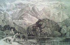 Sintra, litografia antiga