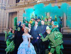 The beautiful Australian cast of Wicked.