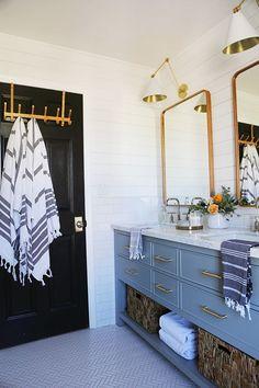 The Girls Bathroom! - Little Green Notebook