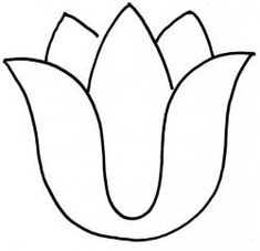 5 Best Images of Free Printable Tulip Stencil - Printable Tulips Flower Coloring Pages, Tulip Template Printable and Tulip Flower Template Printable Applique Templates, Applique Patterns, Applique Quilts, Applique Designs, Beaded Flowers Patterns, Paper Flower Patterns, Quilting Stencils, Stencil Patterns, Tulip Drawing