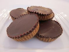 Healthy Dairy-Free Peanut Butter Cups