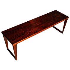 A  Brazilian rosewood coffee table by Kai Kristiansen, Denmark 1960's