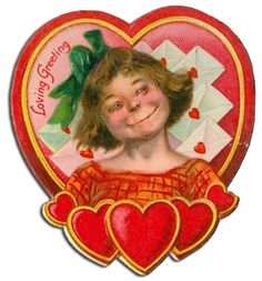 vintage everyday: Valentines WTF – A Collection of 47 Weird and Creepy Vintage Valentine's Day Cards Vintage Valentine Cards, Vintage Greeting Cards, Valentine Day Cards, Printable Valentine, Valentine Ideas, Day Before Valentines Day, Creepy Images, Creepy Vintage, Little Valentine
