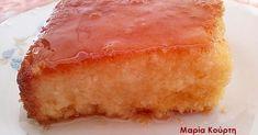 Ρεβανί με στέβια !!! No Sugar Foods, Healthy Desserts, Stevia, Cornbread, Sweet Recipes, Sugar Free, Sweets, Diet, Ethnic Recipes